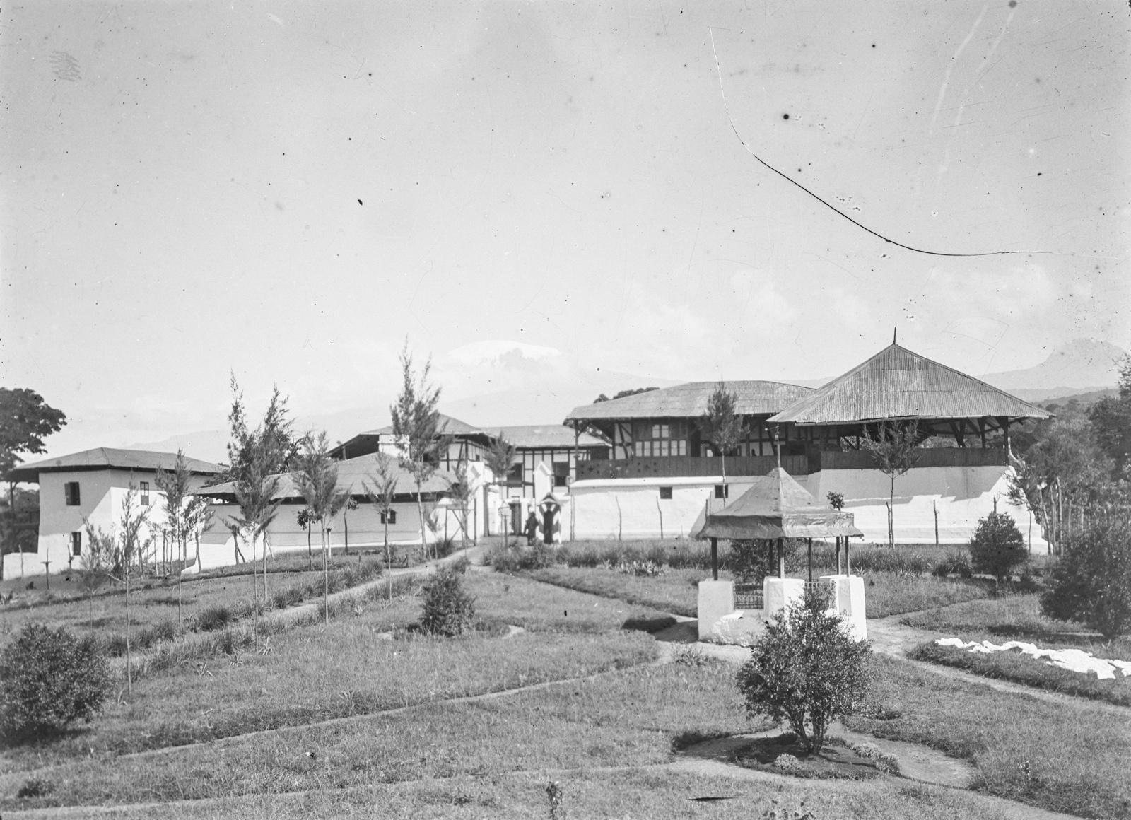 285. Станция немецкого общества Восточной Африки (ДОАГ)  в Моши