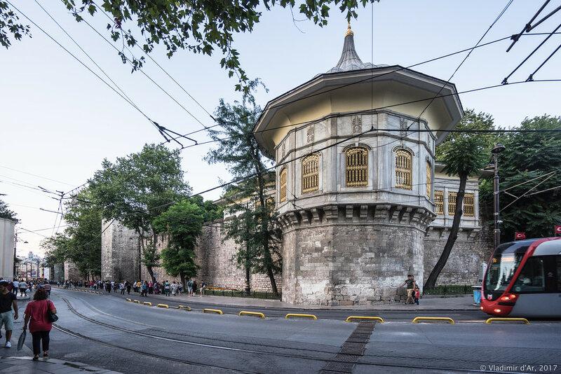 Павильон Парадов. Стамбул.