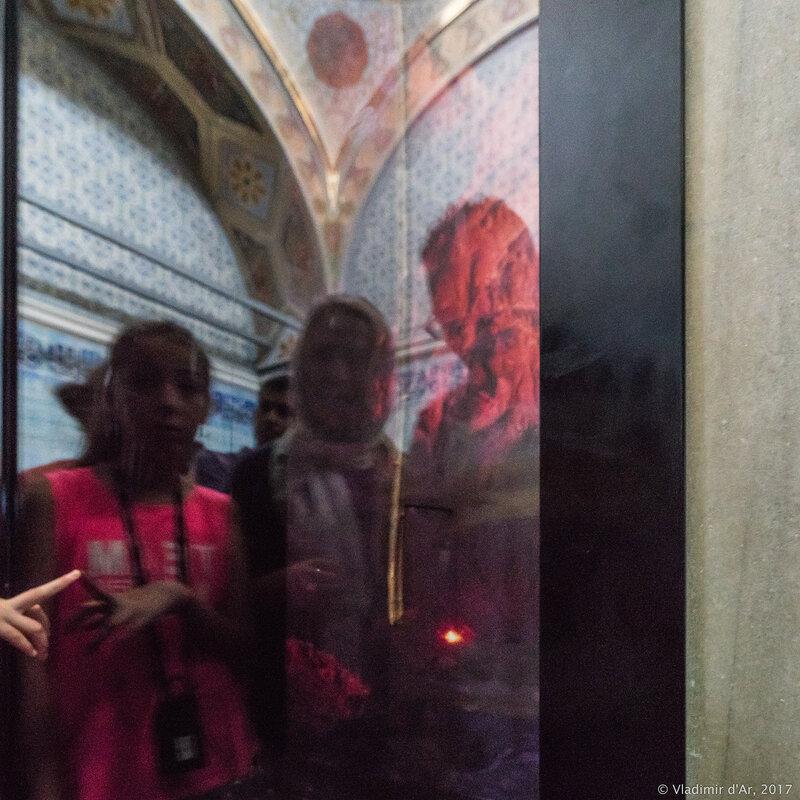 Дворец Топкапы в Стамбуле. Павильон Священной мантии и святых реликвий (Hirka-ı Şerif). Посох Моисея.