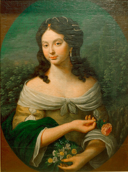 Louise, Graefin von Degenfeld/ Gemaelde - Louise, Countess of Degenfeld/ Painting -