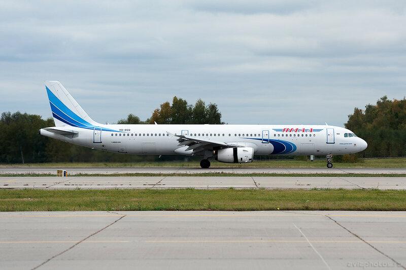 Airbus A321-231 (VQ-BSQ) Ямал 0019_D706467