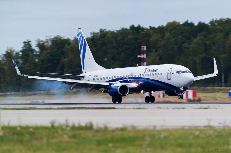 Boeing 737-8K5 (VQ-BDO) Nordstar 0347_D805666