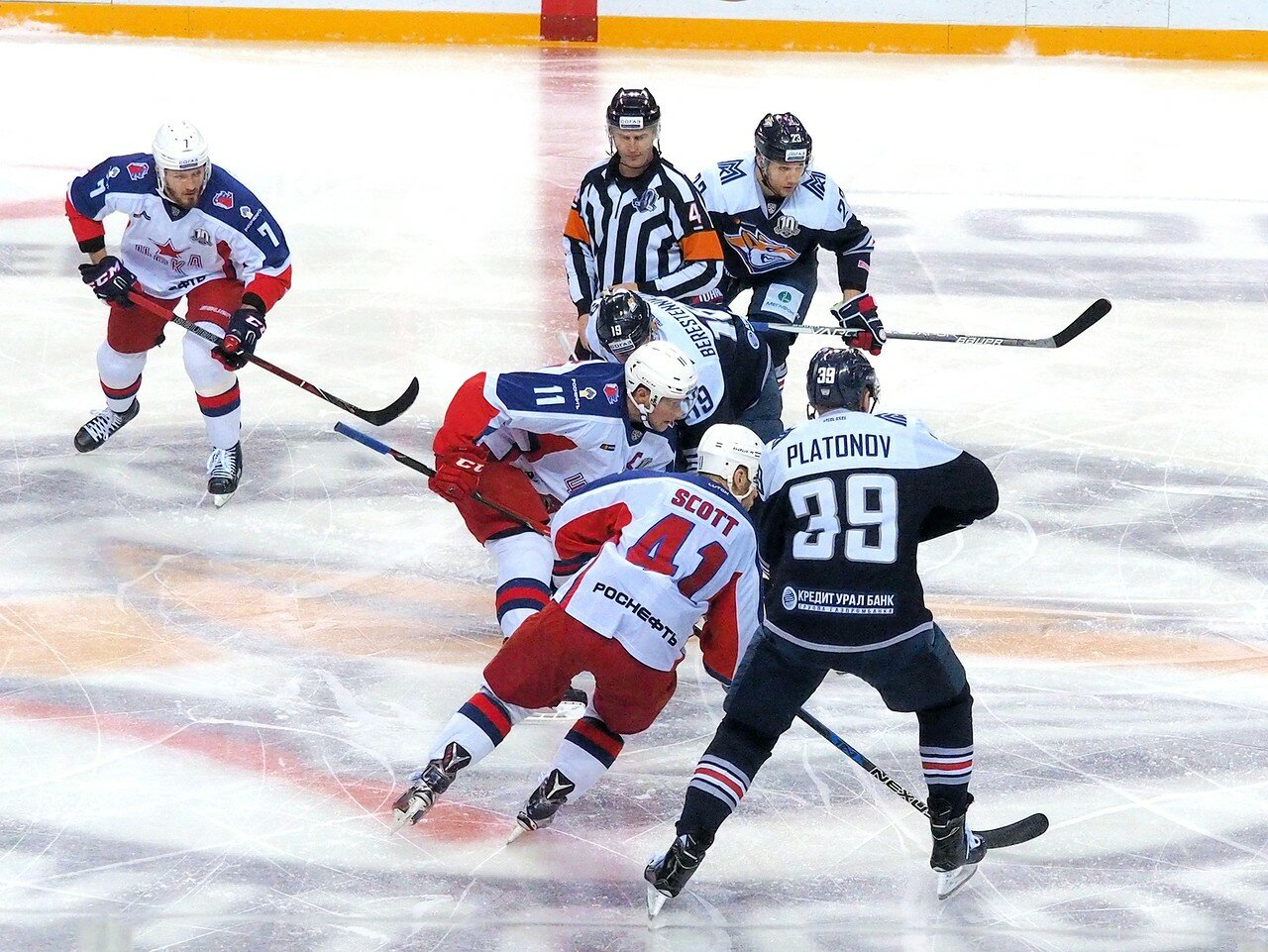 81 Металлург - ЦСКА 18.10.2017