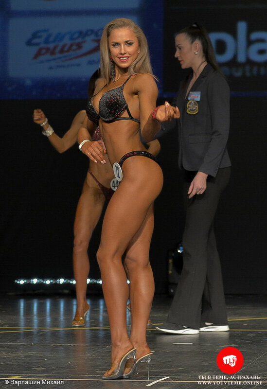 Категория: Фитнес-бикини 160см. Чемпионат России по бодибилдингу 2017