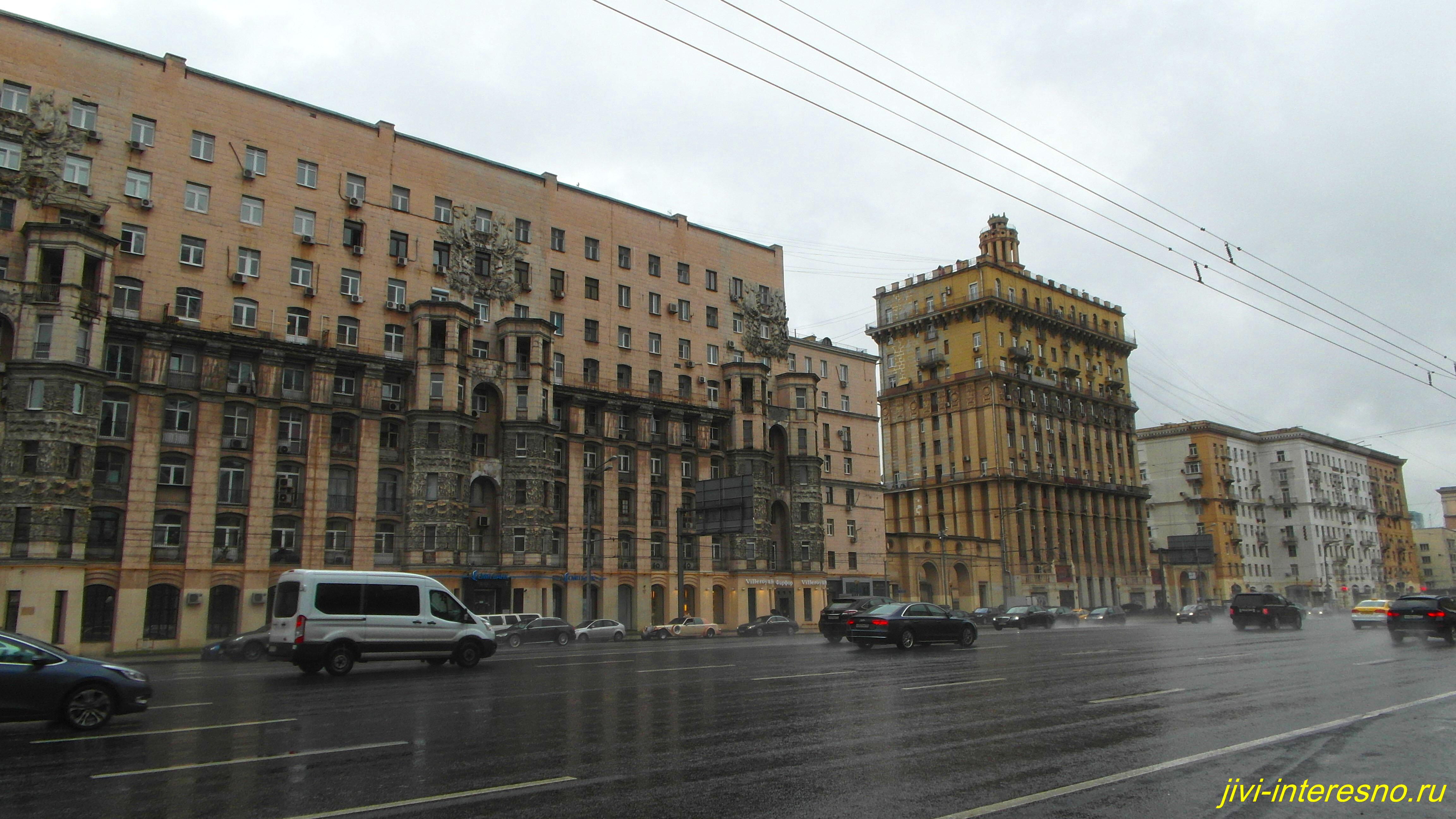 Осенняя Москва, Кутузовский проспект, Москва-Сити