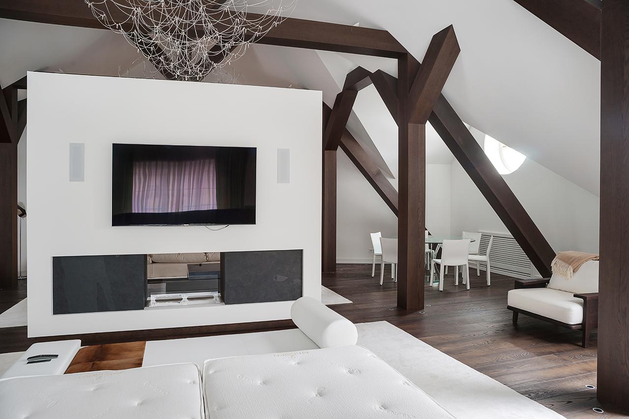 фотосъемка интерьеров дома: чердак