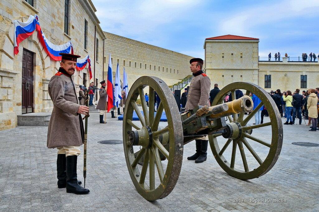 Открытие Константиновской батареи