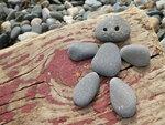 Человечек из камней