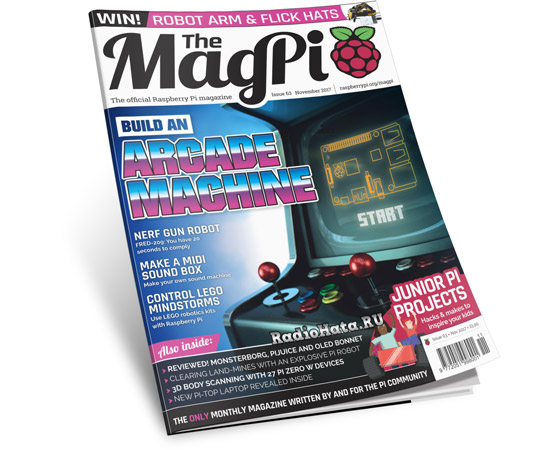 The MagPi - Issue 63 (November 2017)