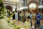 Торжественное богослужение в Храме Христа Спасителя