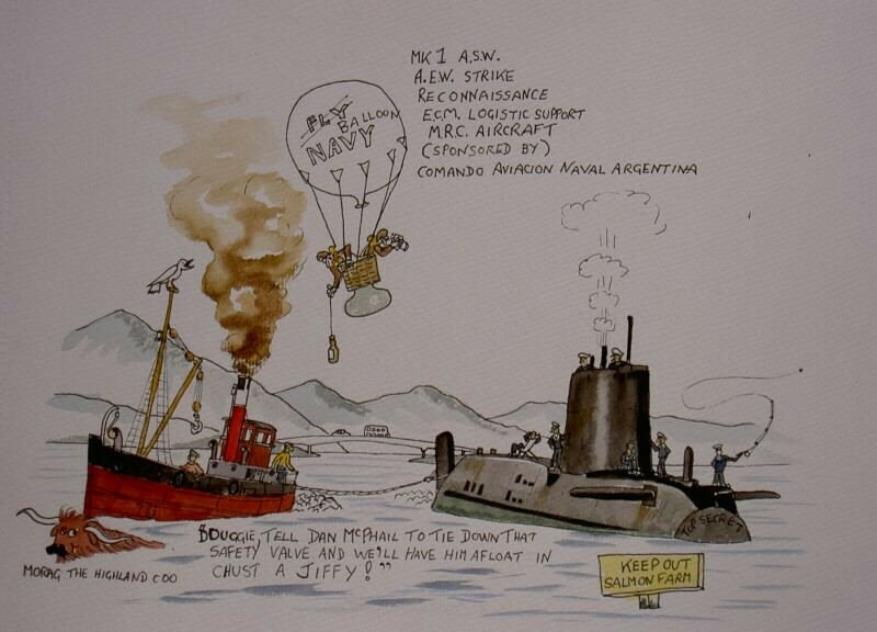 I did this when HMS Astute ran aground on Skye.