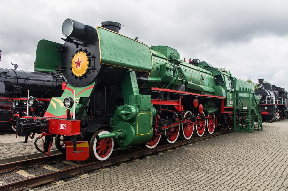12. Паровоз Типа 0-5-0 серии Э Р №17-750-01. Построен в 1943 году на Коломенском паровозостроительно
