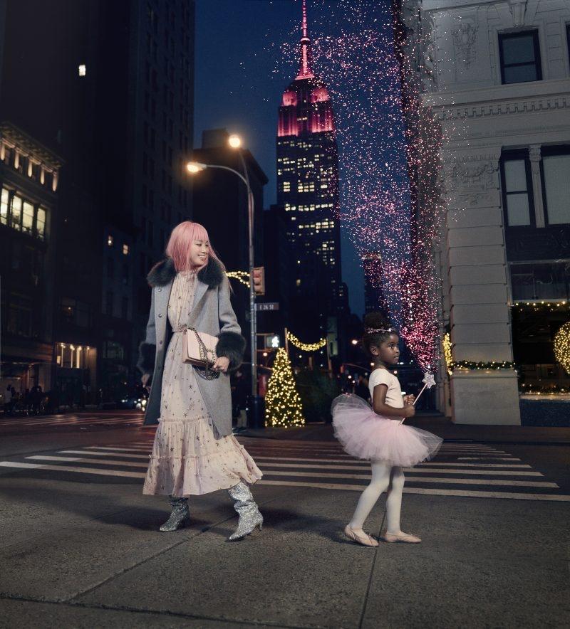 Фернанда Ли в рекламной кампании Kate Spade