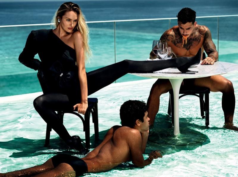Кэндис Свейнпол для Vogue Brazil