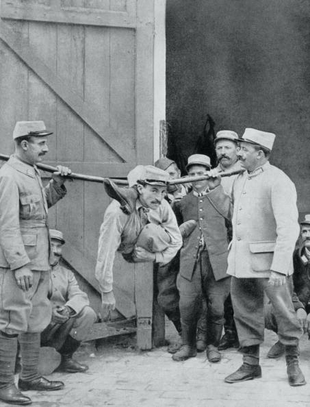Фотография Уилла Томаса, сделаннаяУильямом Хоупом (1863-1933), с призраком на фоне
