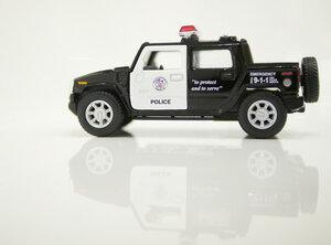 Машинка Kinsmart Hummer H2 SUT Police