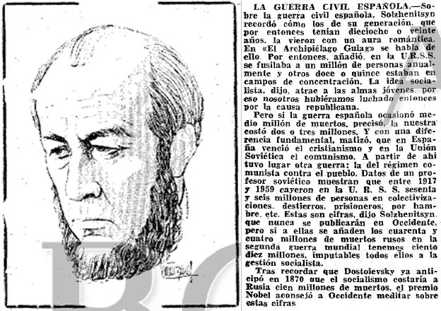 21.03.1976 Ciento diez millones de rusos han muerto victimas del socialismo