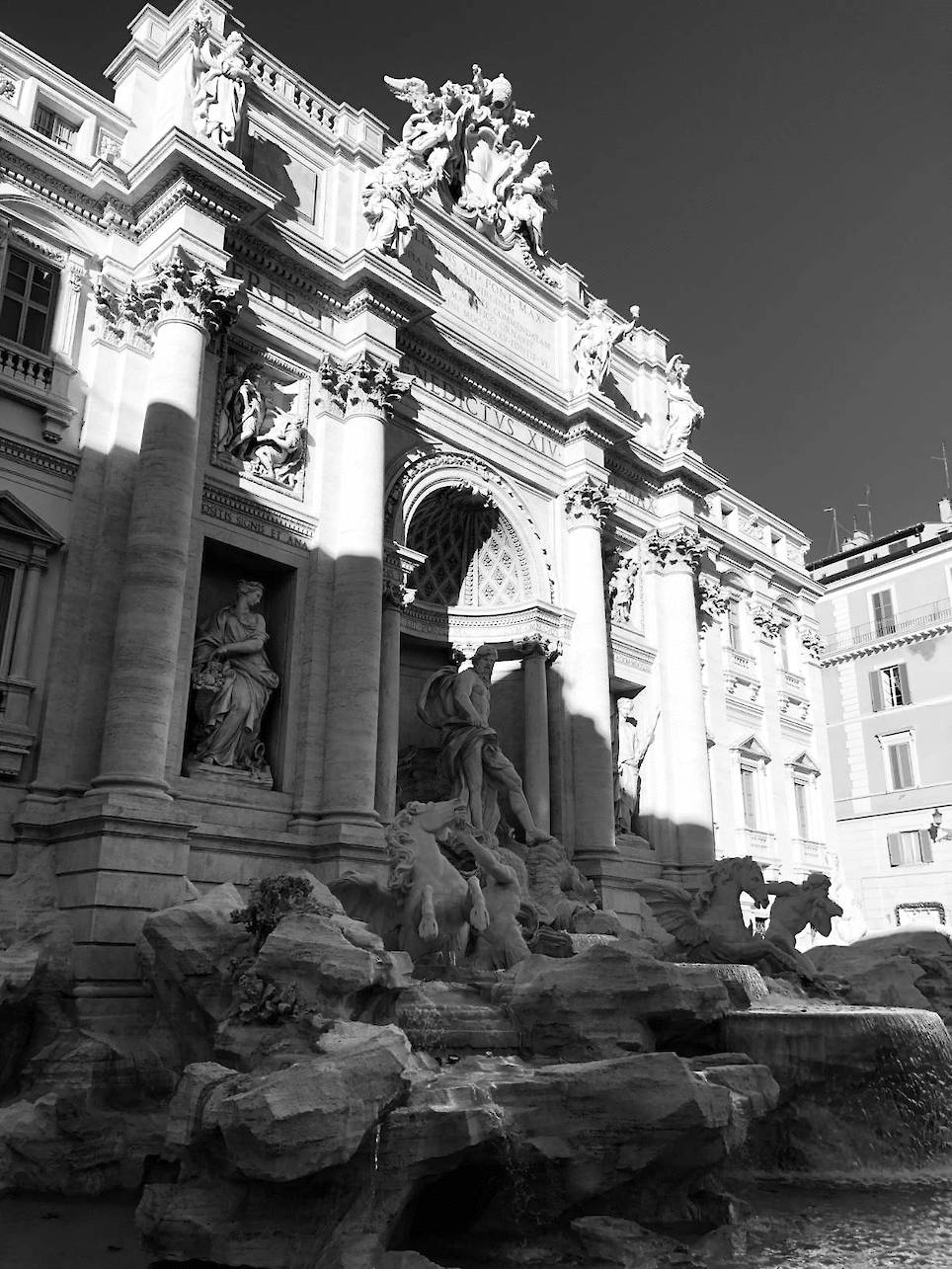 Stunning Shots of Rome in Black and White
