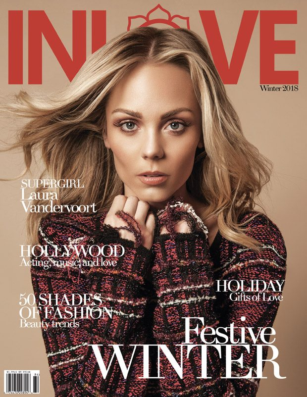 Canadian actress  Laura Vandervoort  lands the cover story of  In Love Magazin