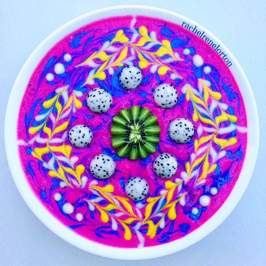 Psychedelic Smoothie – She imagines ultra-colorful vegan creations (24 pics)