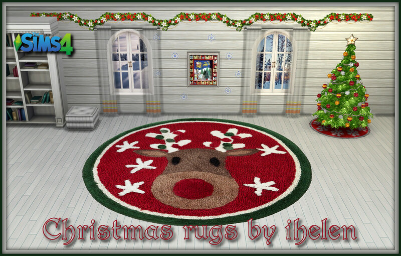 Christmas rugs by ihelen