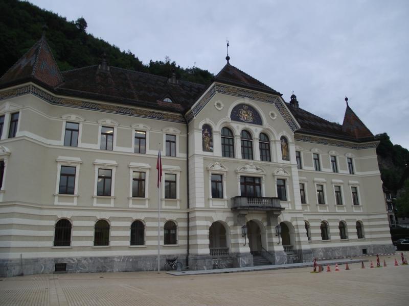 Короткое посещение Лихтенштейна
