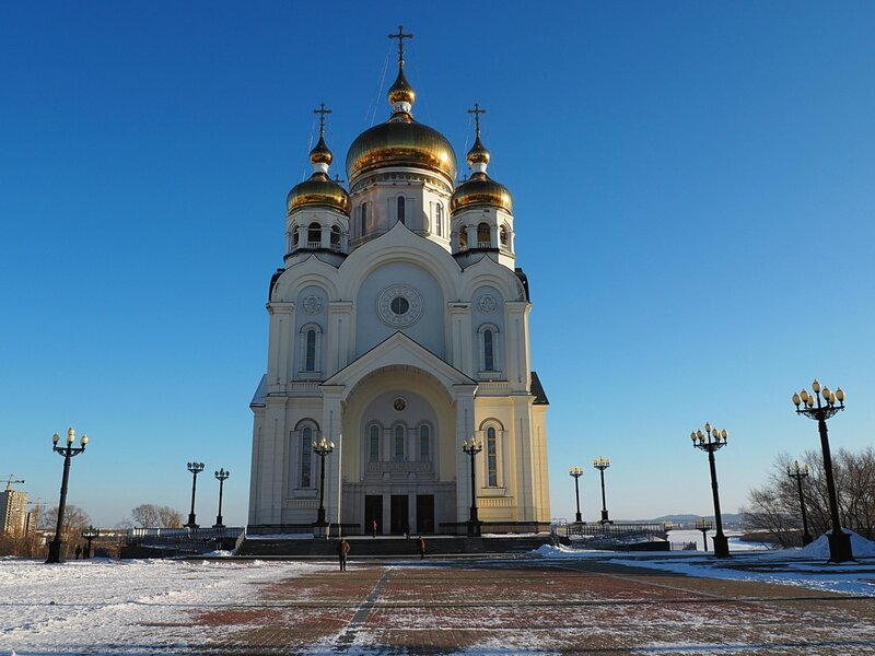Хабаровск, Спасо-Преображенский собор (Khabarovsk, the Transfiguration Cathedral)