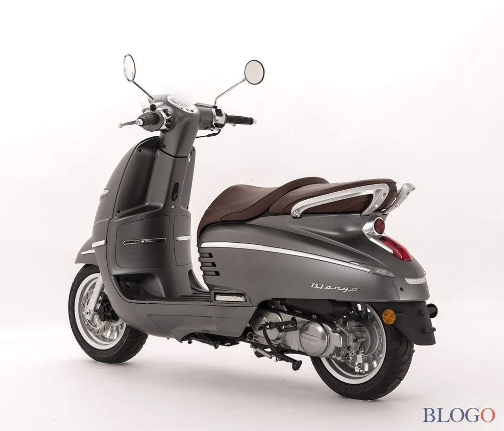 Модельный ряд скутеров Peugeot Django 50-125 2018