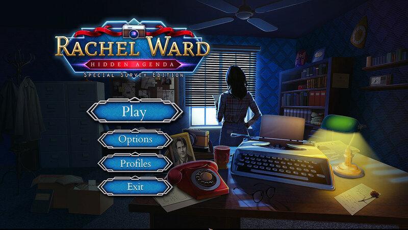 Rachel Ward: Hidden Agenda