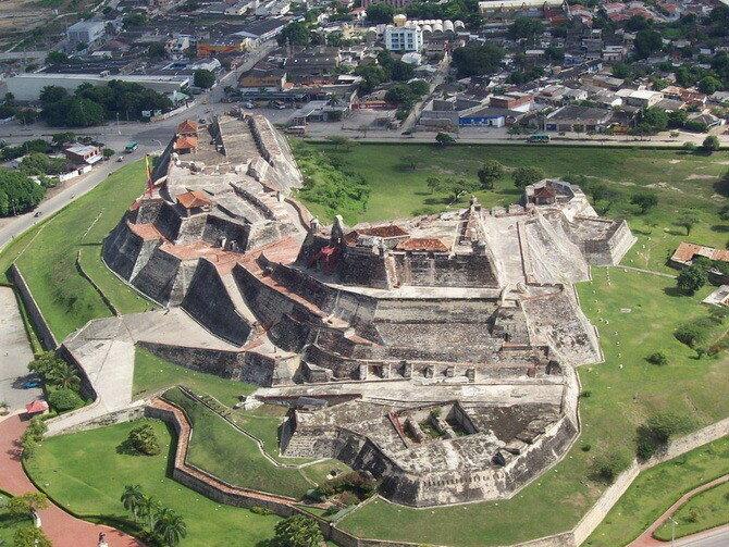 Крепость Картахены. Колумбия