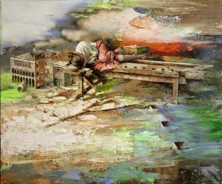 Вангелис Ринас. Художник, рисующий одиночество.