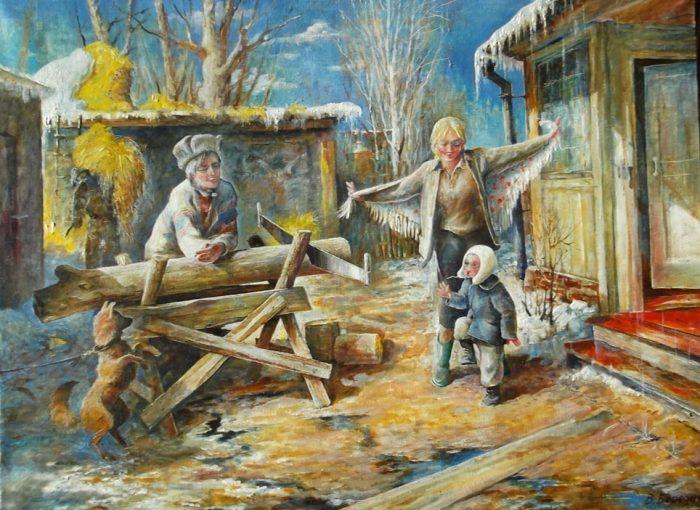 Владимир Березин. И очень мудрая улыбка.