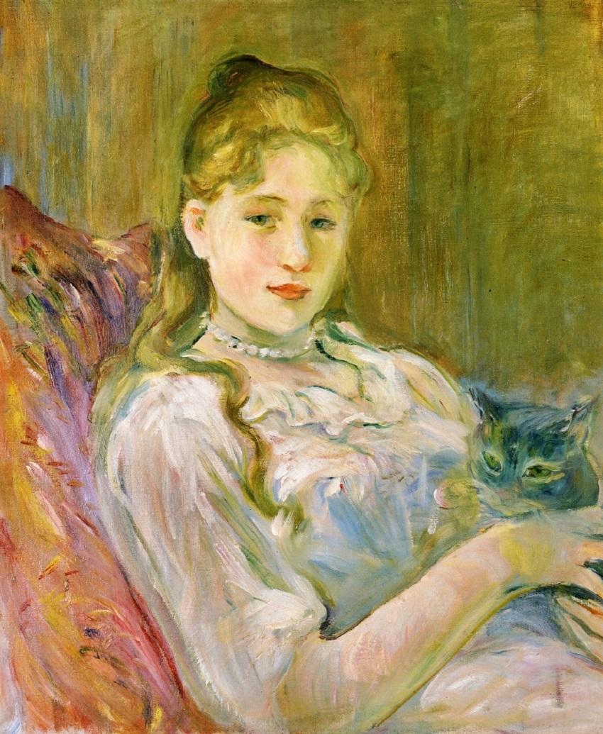 La jeune fille au chat, 1892.
