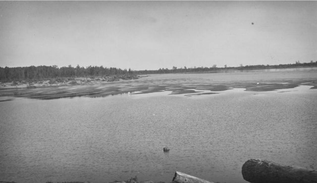 17. Река Обь около Коломыны