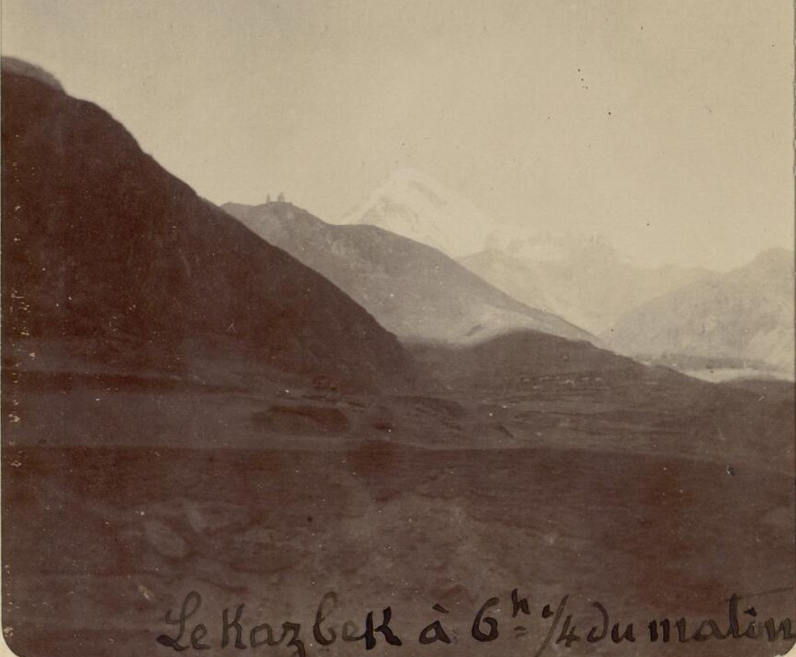 04. Военно-Грузинская дорога. Гора Казбек