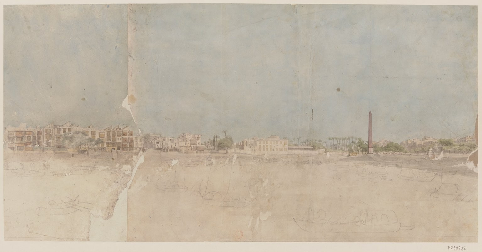 Каир. Вид с площади Эзбекия