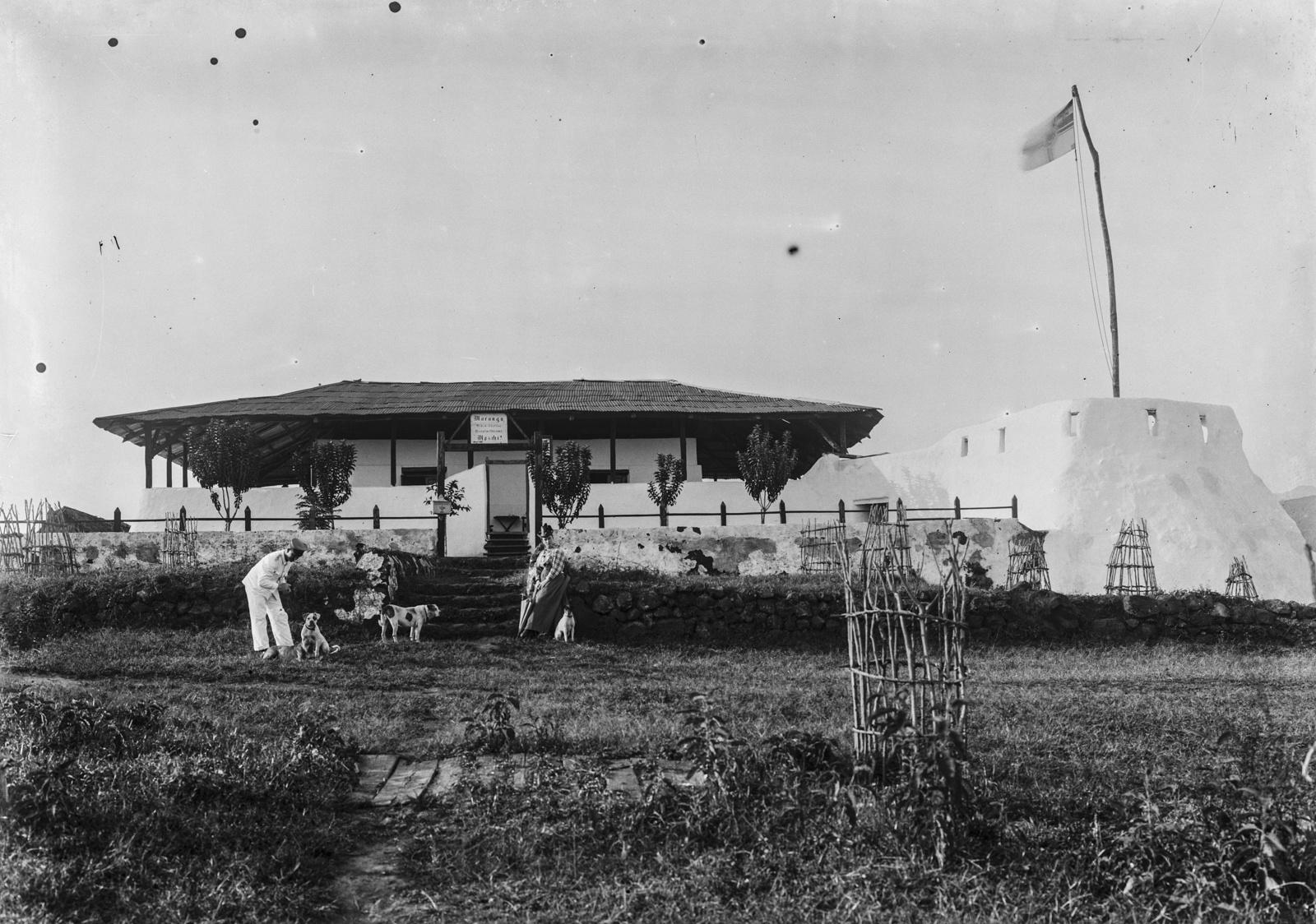 157. Станция немецкого общества Восточной Африки (ДОАГ) в Марангу