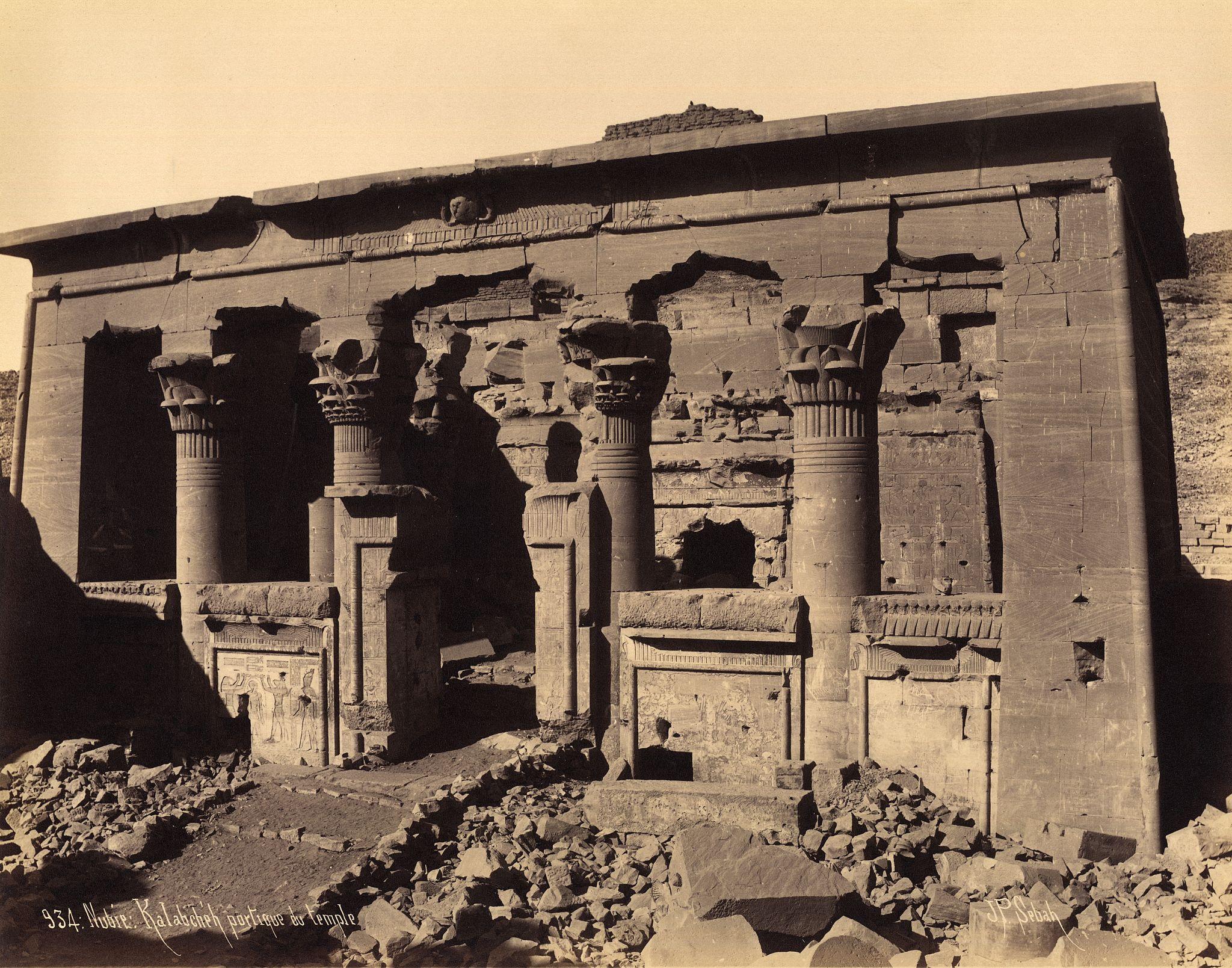 Храм Калабша (также Храм Мандулиса) — древний египетский храм, который был первоначально расположен в Баб эль-Калабша