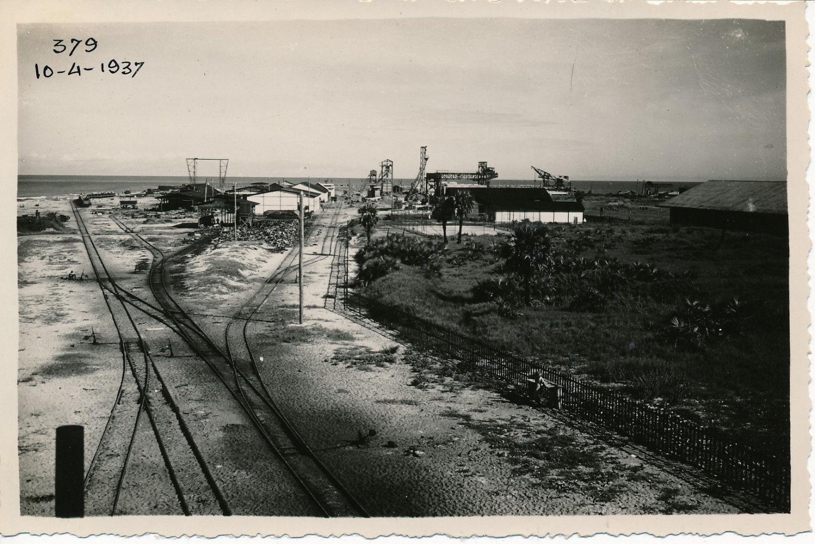 10.04.37. Вид станции и строительной площадки