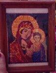 Карабанская Александра (рук. Маковкина Елена Алексеевна) - Пресвятая Богородица