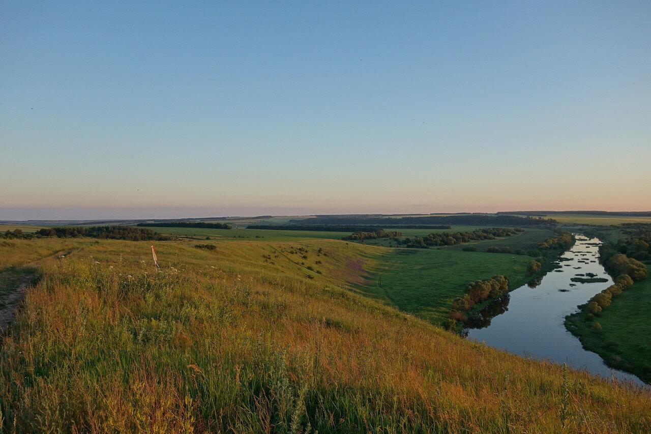 вечерняя долина Зуши