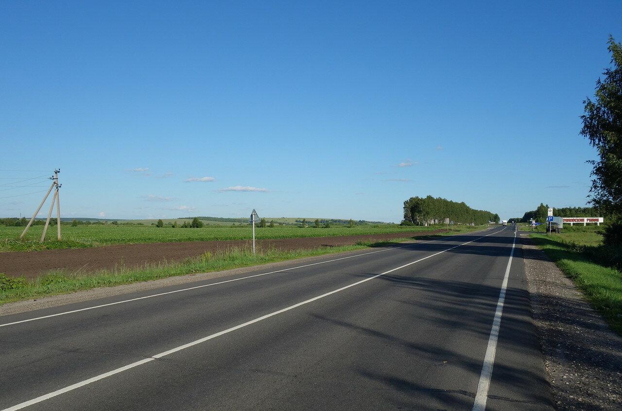 шоссе Шатки-Лукоянов