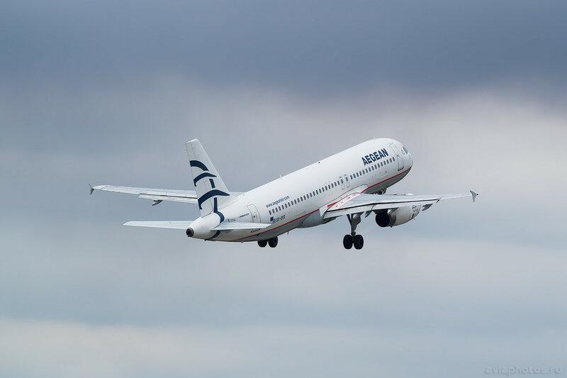 Airbus A320-232 (SX-DVX) Aegean 0064_D805495
