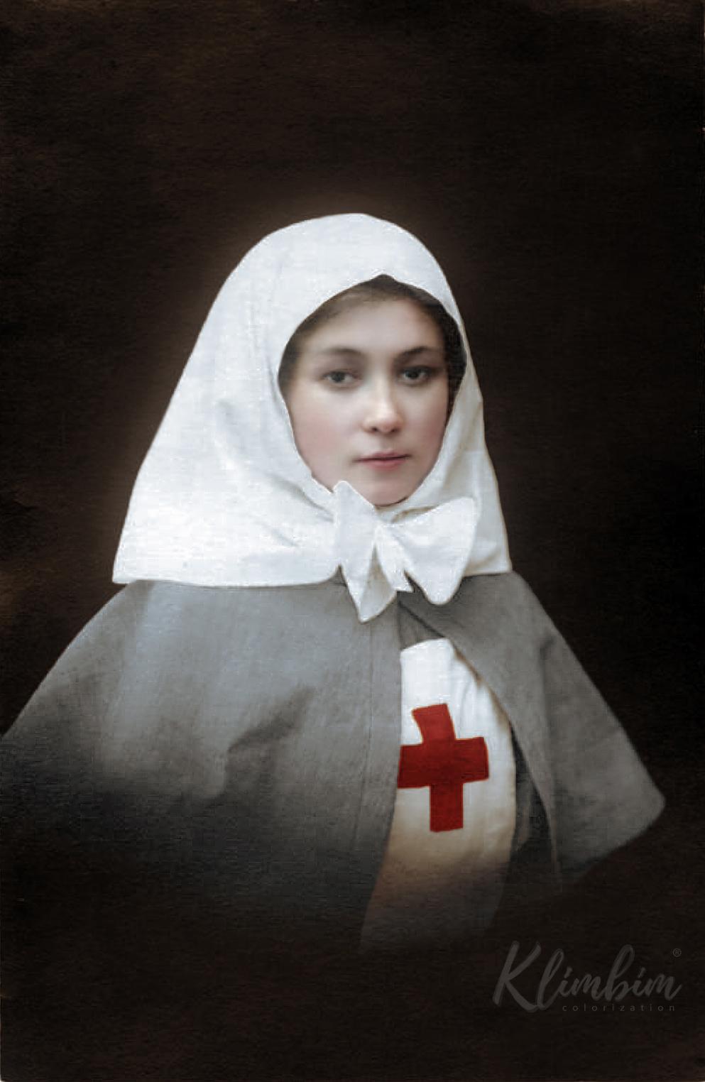 Russian nurse, WW1 | Сестра милосердия Мария, 1914-16