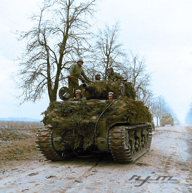 Немцы VS Янки. 1944 г.