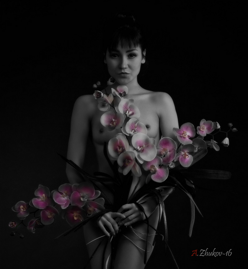 Снимки в жанре «Ню» Андрея Жукова