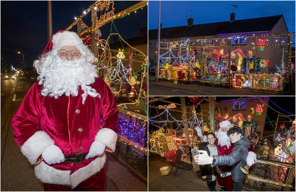Британец каждый год украшает дом к Рождеству