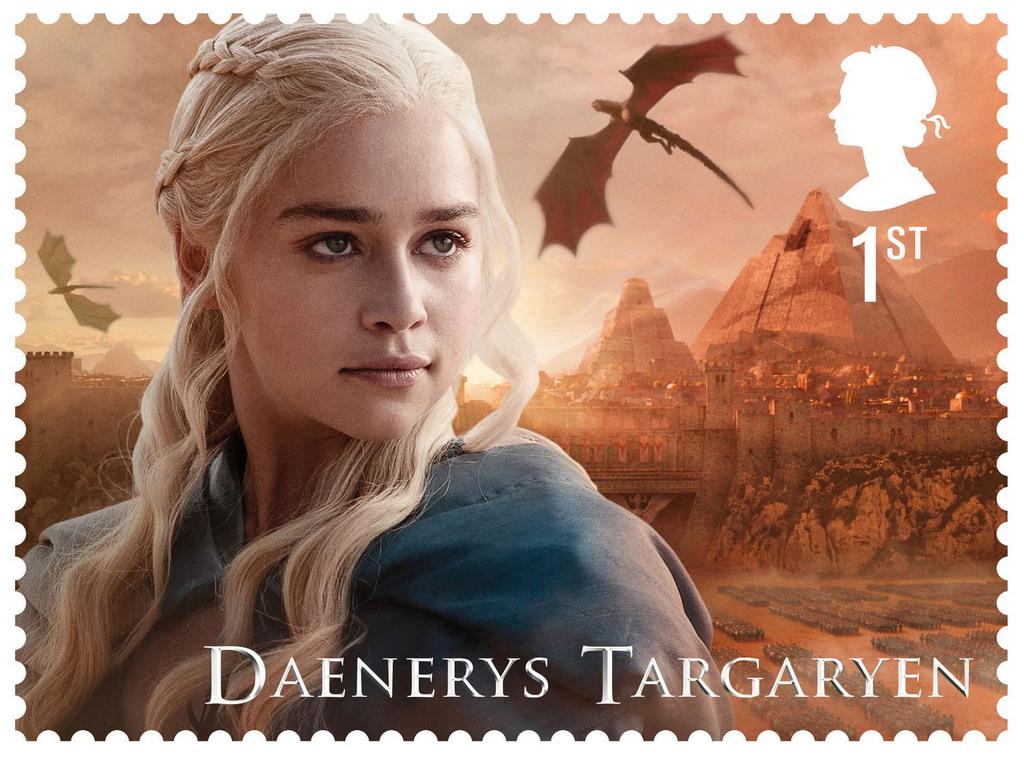 Персонажи «Игр престолов» появятся на марках