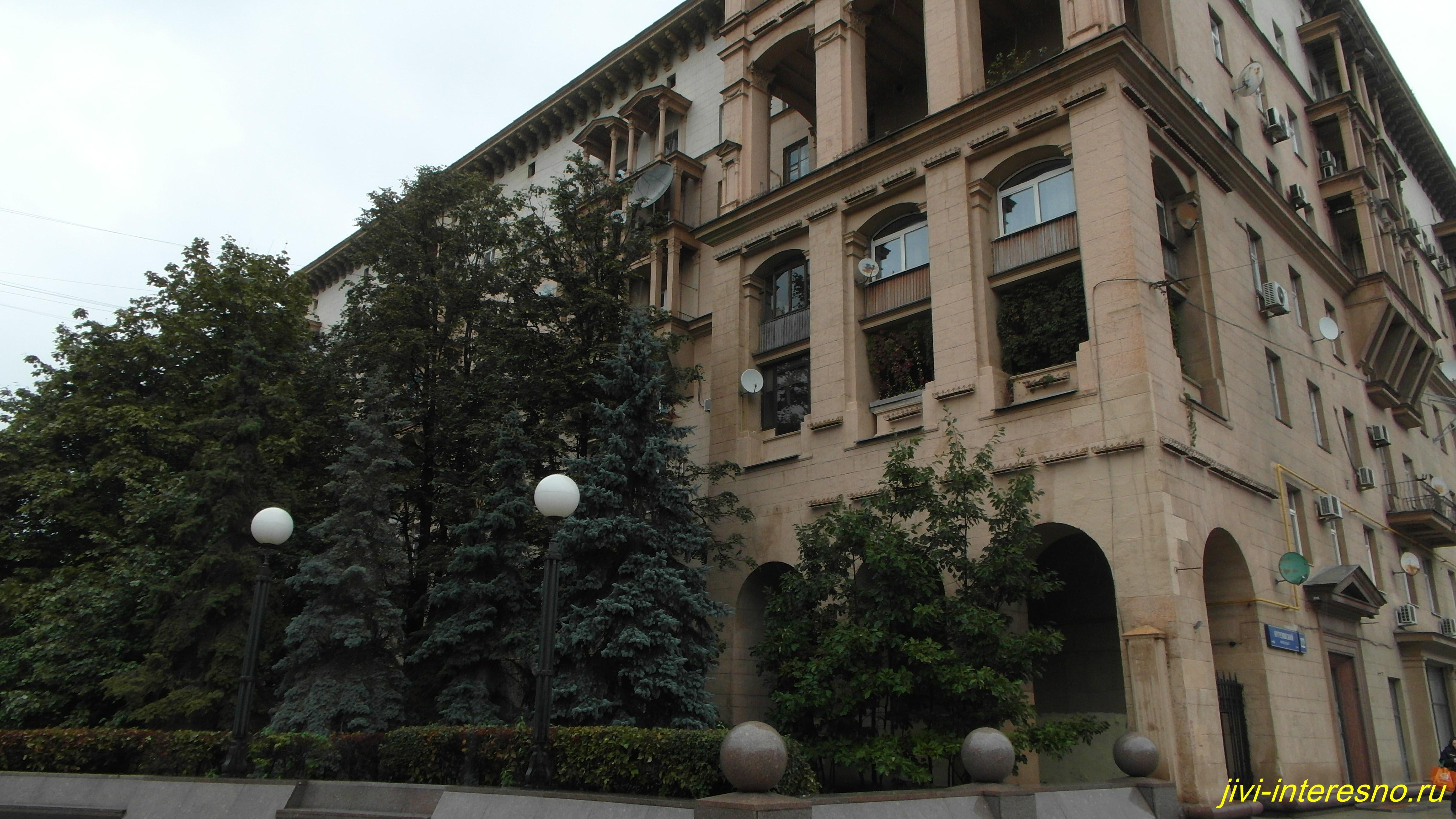 Осенняя Москва, Проспект Кутузова