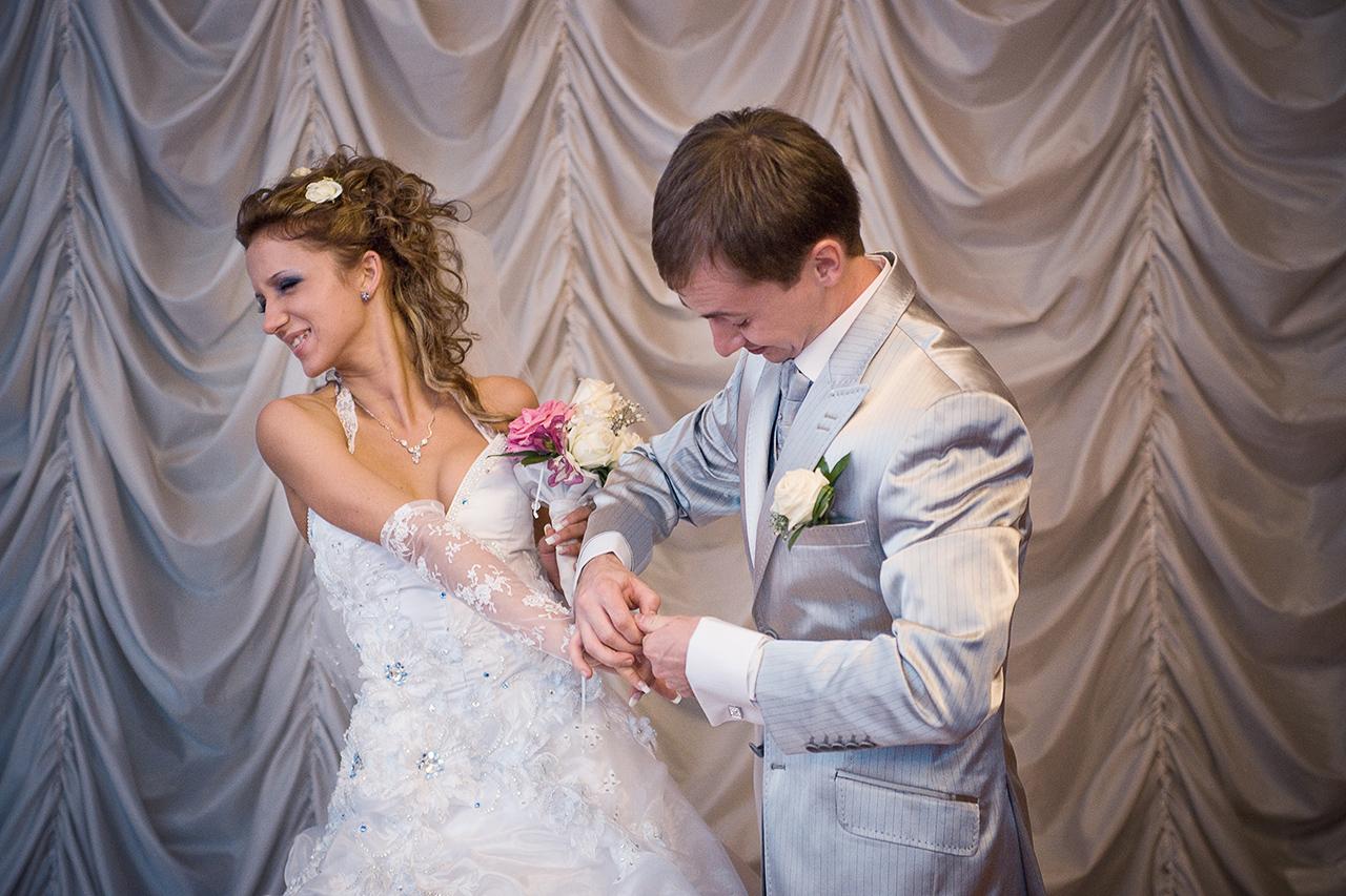 свадебные фото невесты